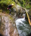Canyoning at Porumbacu - a new experience full of adrenaline