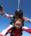 Sky-diving and escape room in an exciting day