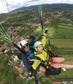 An unforgettable experience - the tandem paragliding flight to Brasov