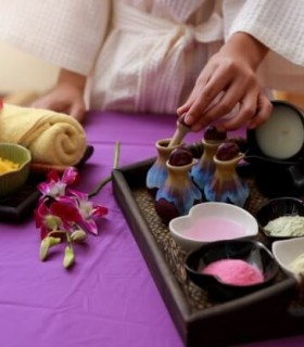 Your experience of relaxation and pampering after a stressful period
