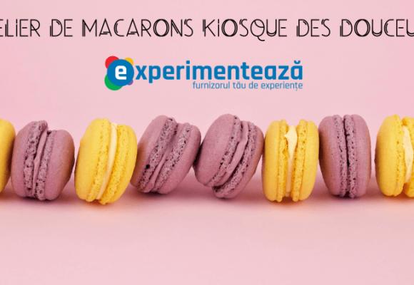 Echipa Experimenteaza.ro la atelierul de macarons