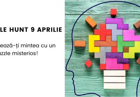 Puzzle Hunt 3 Experimenteaza - 9 aprilie