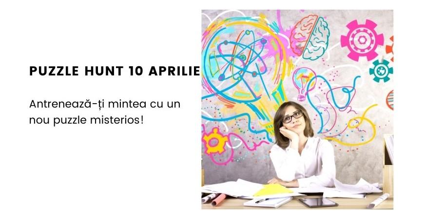 Puzzle Hunt 4 Experimenteaza - 10 aprilie