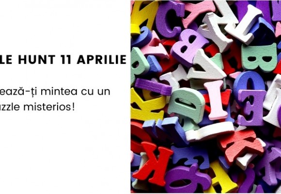 Puzzle Hunt 5 Experimenteaza - 11 aprilie