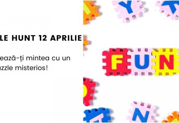 Puzzle Hunt 6 Experimenteaza - 12 aprilie