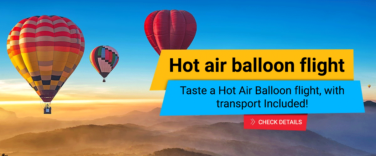 Zbor cu balonul si transportul inclus la balon si inapoi in Bucuresti